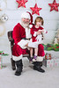 Eloise's first visit with Santa (Morgret Pic)