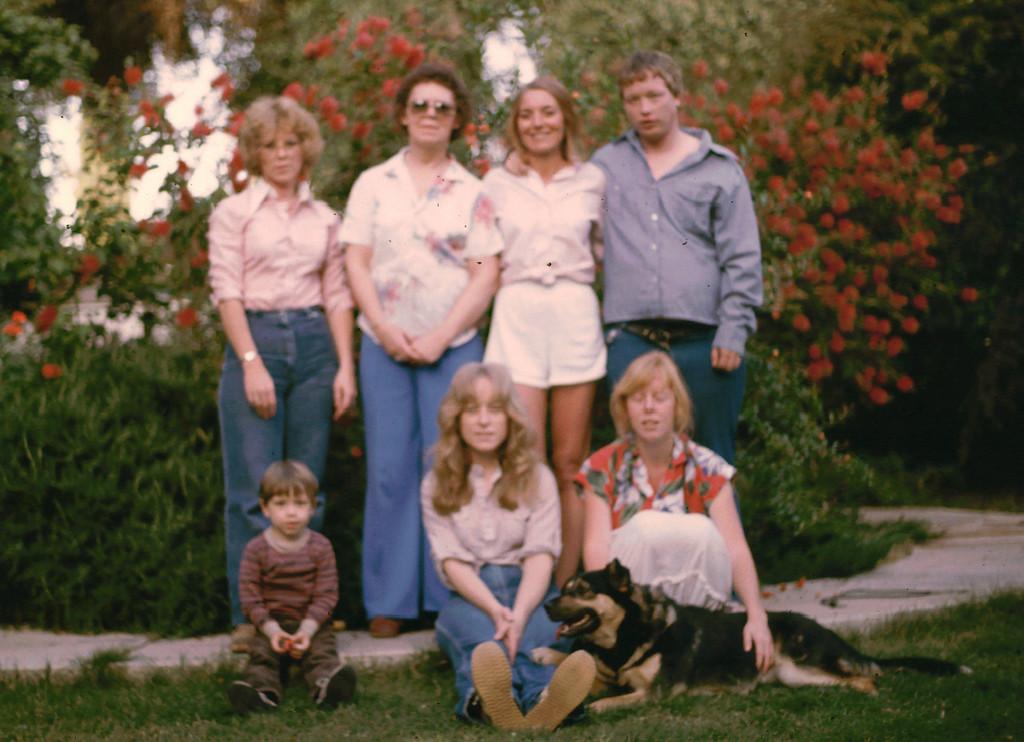 Family Visit: Carolyn 1985