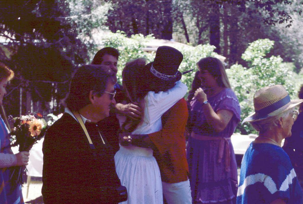 Lisa/Ron's Wedding - Ruggles hugs Lisa