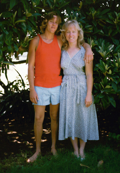 1985 - very young Steve and Sharon