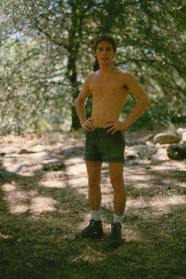Jerry at Cuyamaca State Park, 1985
