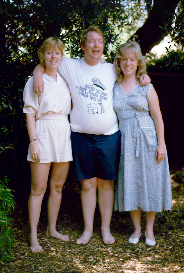 Lisa, Roger and Sharon - Penny Siblings in 1985