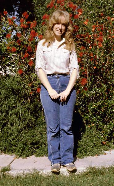 Sharon in El Cajon 1985