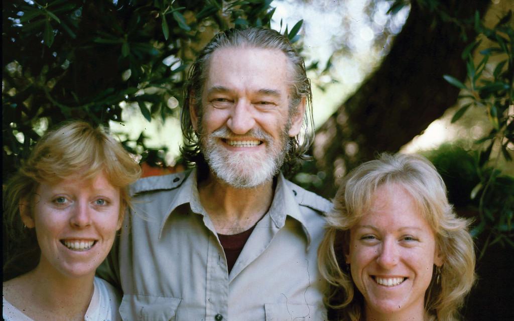 Lisa, Elwood and Sharon in El Cajon, 1985