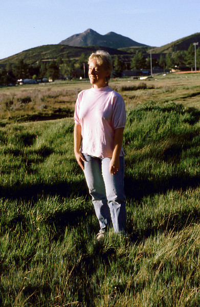 Sharon in the meadow 1988