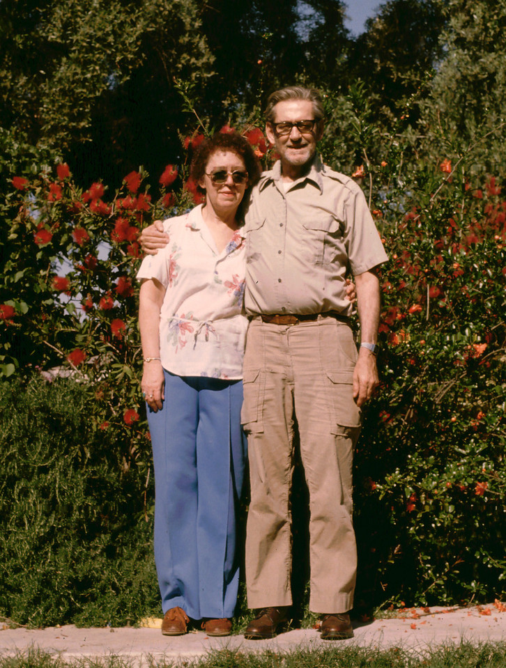 Elwood and Eleanor in El Cajon 1985