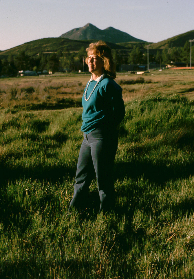 Marion in the meadow 1988