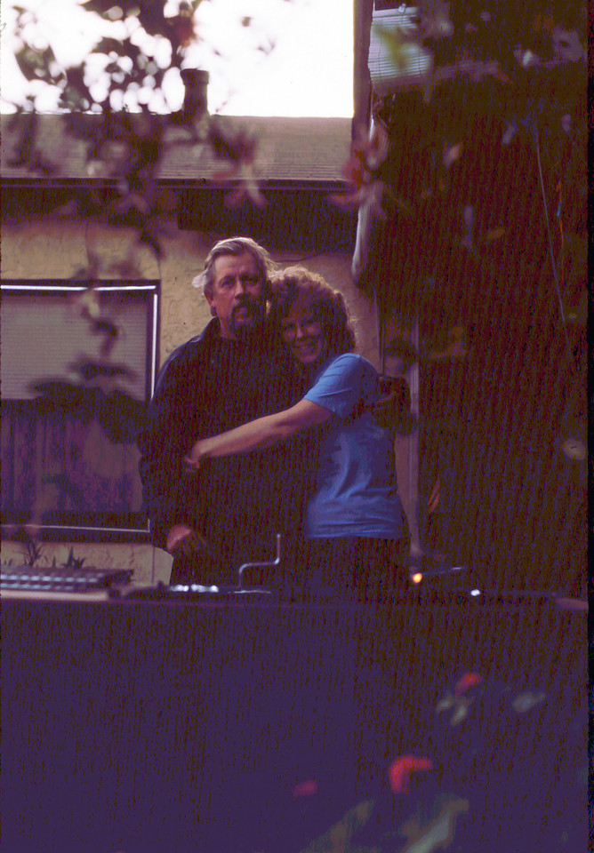 Marion & Whitey at home, circa 1985