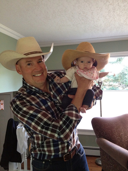 Howdy Rodeo Princess! Emerson's first Stampede.
