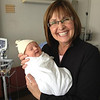 Grandma Karen is tickled pink to introduce Emerson Grace Dublonko.