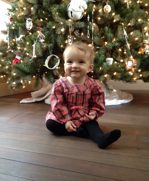 Emerson Grace's first Christmas