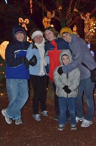 Matthew, Emilie, Kendra, Josh and Teresa