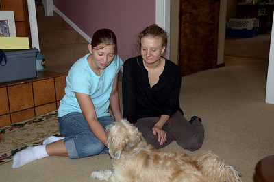 Kendra, Emilie and Otis
