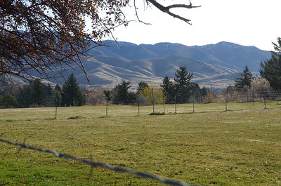 Mountains near Logan Utah, Thanksgiving 2012