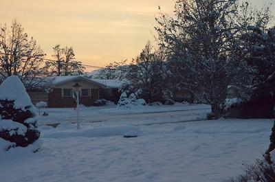 Near Grandma Berry's home in Logan Utah
