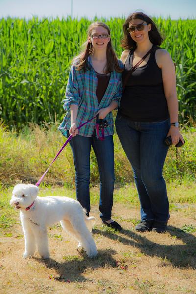 Roxie, Emily, Ilda.
