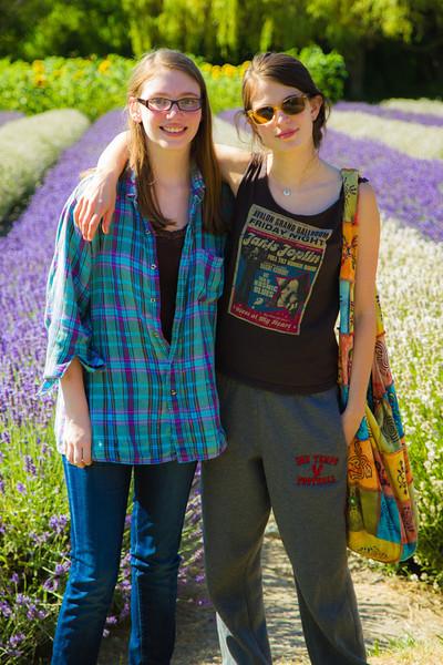 Cousins Emily & Amelia.