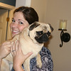 Emily with Emily the pug