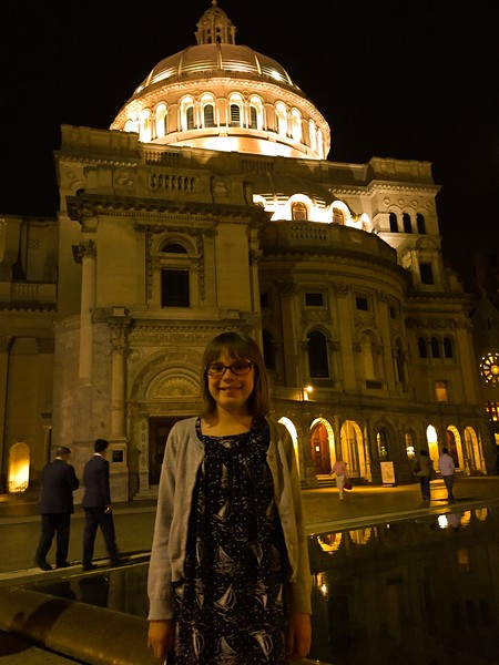Christian Science Museum after the Boston Pops.