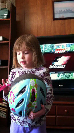 Emily wants to be a racing car driver.