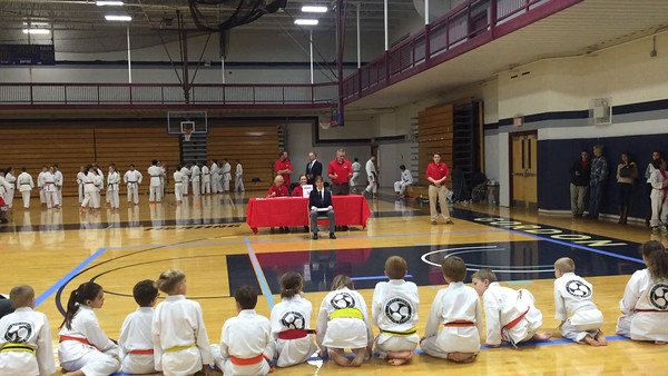 Emily's First Karate Tournament