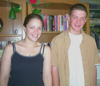 Emily (18 yrs) & Alex (14 yrs)