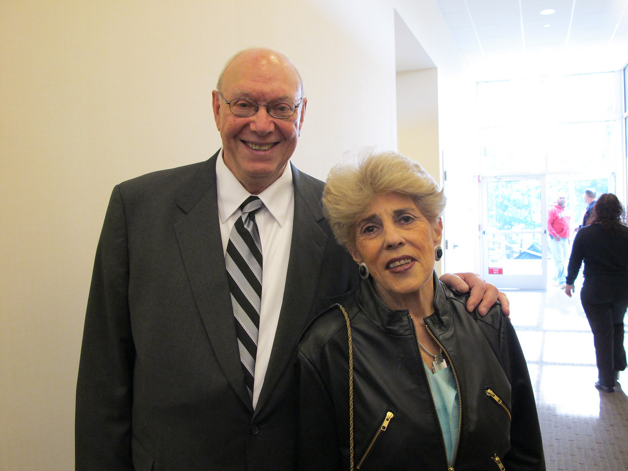 Dad & Aunt Carole