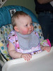 "Emily ""Maybe this ice cream stuff isn't so bad after all.""<br /> Photo by Beverly Simmons"