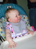 Emily's first reaction to ice cream.<br /> Photo by Beverly Simmons