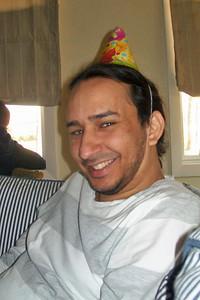 Santi (Ashley's boyfriend) Photo by Beverly Simmons
