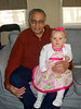 Sadiq & Emily<br /> Paternal Grandfather<br /> Photo by Beverly Simmons