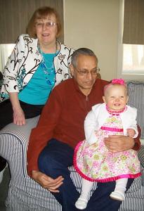 Janet, Sadiq & Emily Paternal Grandparents Photo by Beverly Simmons