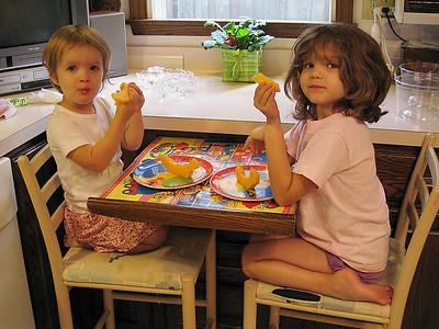 Emma & Jaina August 2008