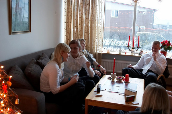 Jólaboð 2006, Jóladag, Borgarholtsbraut 73