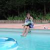 Fin d'après midi à la piscine
