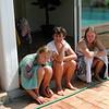 En Aout, autour de la piscine