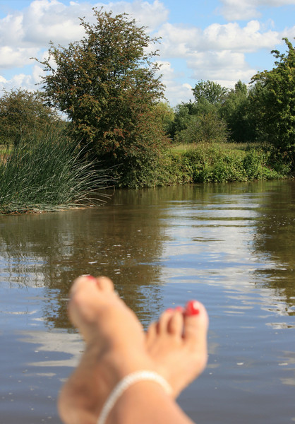 Lazing about on the river....