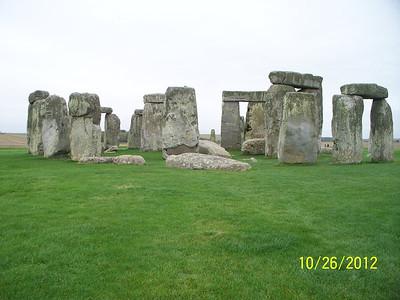 England Oct 2012