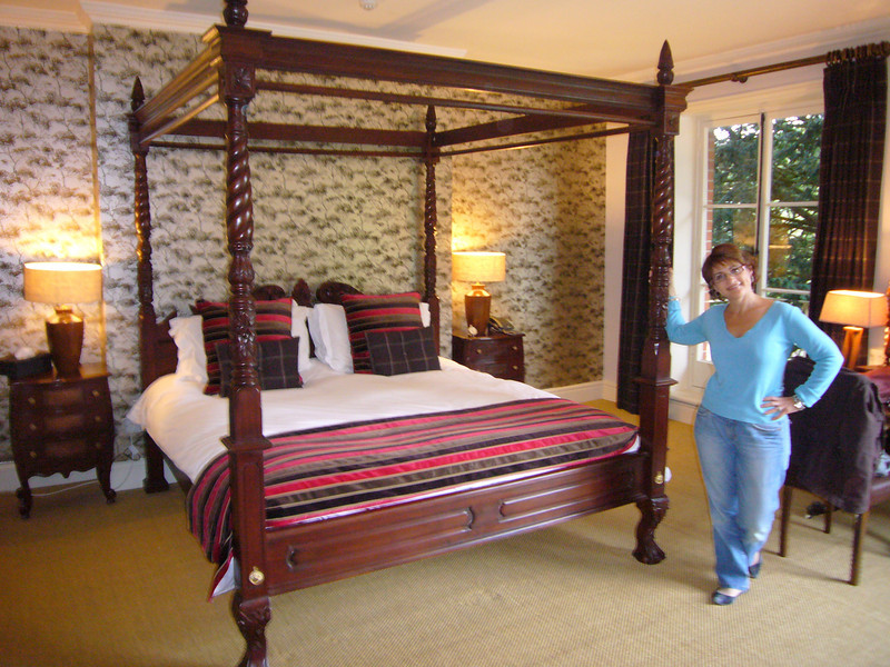 Our room - the General's Room, Museum Inn, Farnham, Dorset