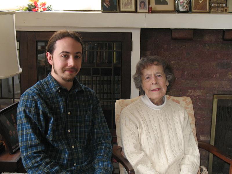 With Joe  April 2013