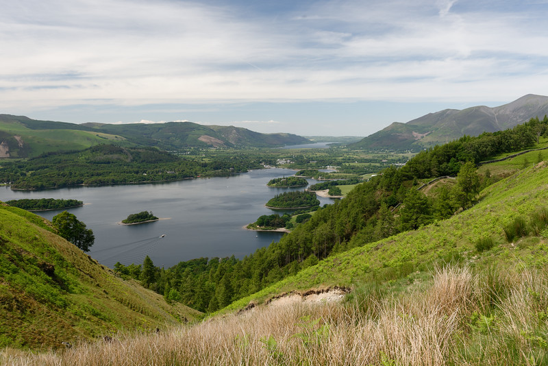 Derwentwater and Borrowdale valley