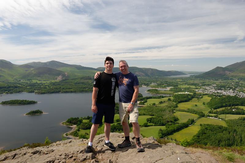 Walla Crag overlook