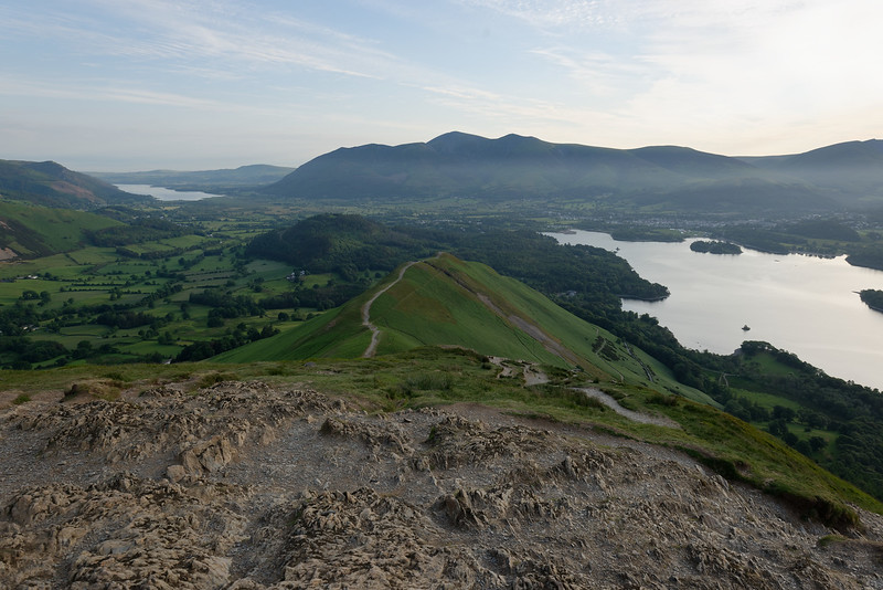 Morning hike up Cat Bells, Borrowdale