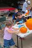 Lautenschlagers hard at work(Carving Pumpkins)