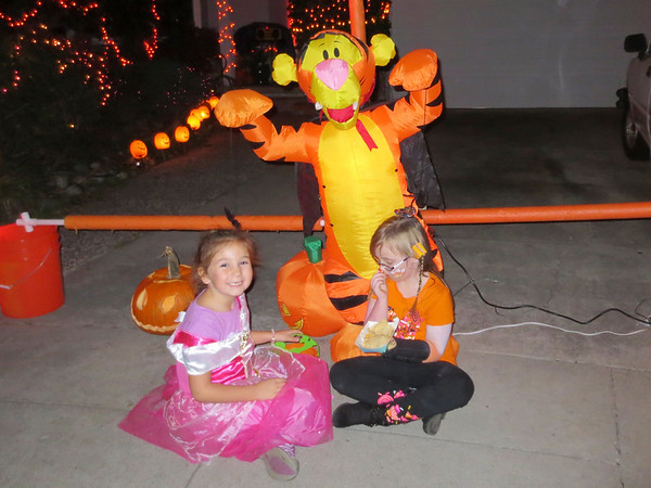 Tea and Tigger with Nicole and Lizzy (Halloween at KPP)