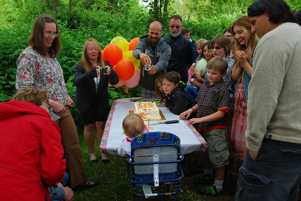 Erica's First Birthday