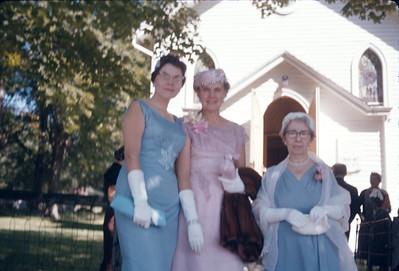 Paul and Doris Wedding 1960