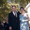 Phil Terni and Stephanie Terni Erickson outside St. Patrick's Church, Millerton NY. September 3, 1960.