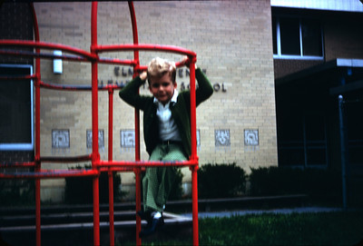 Philip Starts Kindergarten August 1970
