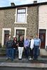 Andrew Hellen Birgitta Davy Maggie John outside 40 Warwick Street Haslingden 20130519  1